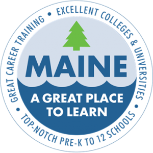 Maine a place to learn logo
