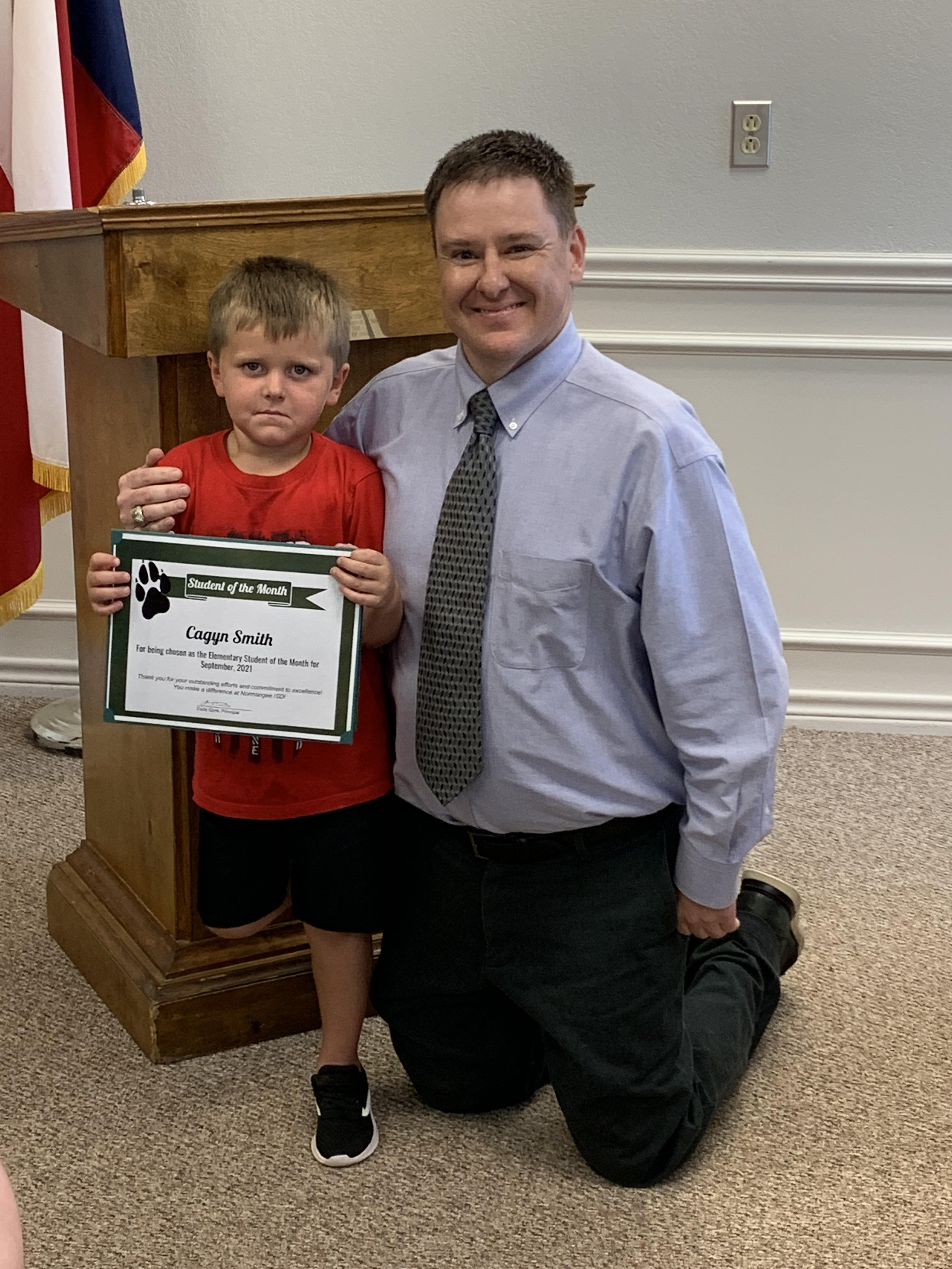 Cagyn Student of the Month