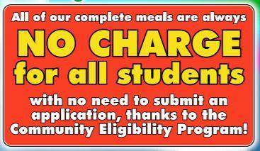 No Charge for All Students