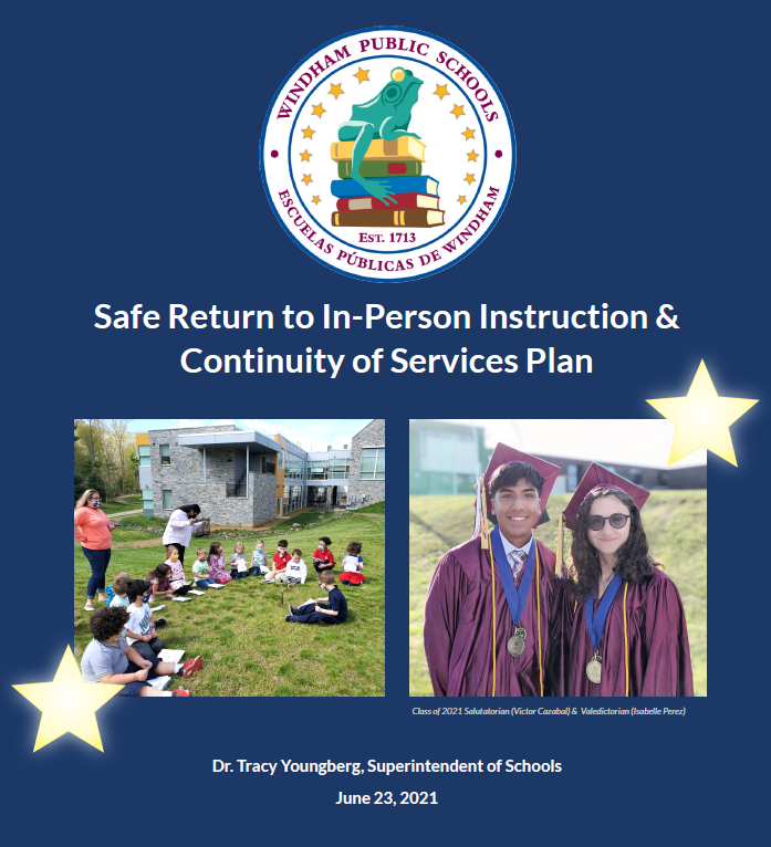 reopening plan cover page