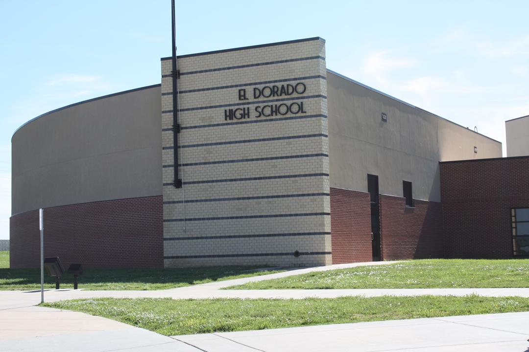Facade of El Dorado High School