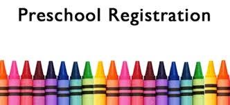 Preschool Registration colorful image