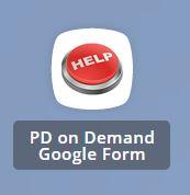PD on Demand Google Form