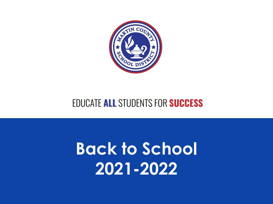 Back to School Presentation 2021-2022