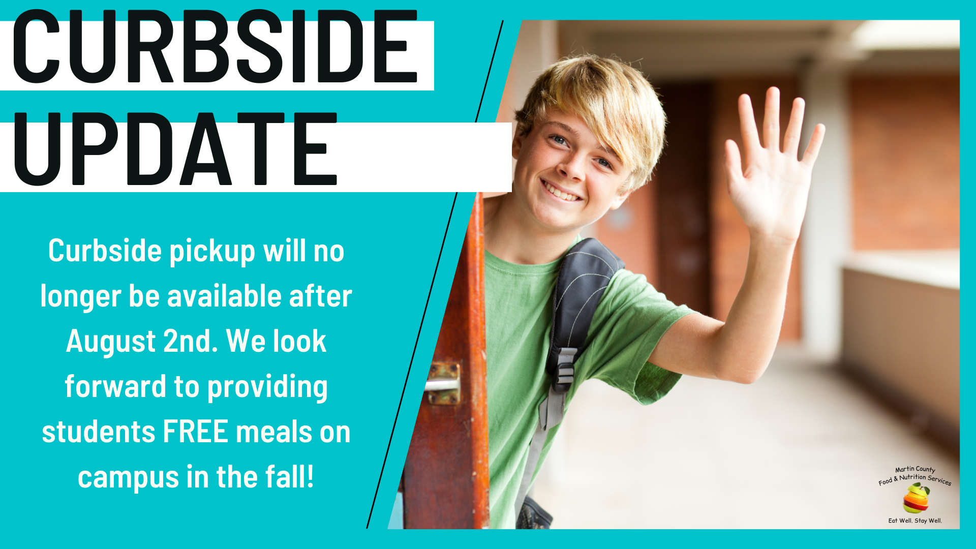 Food & Nutrition Services update