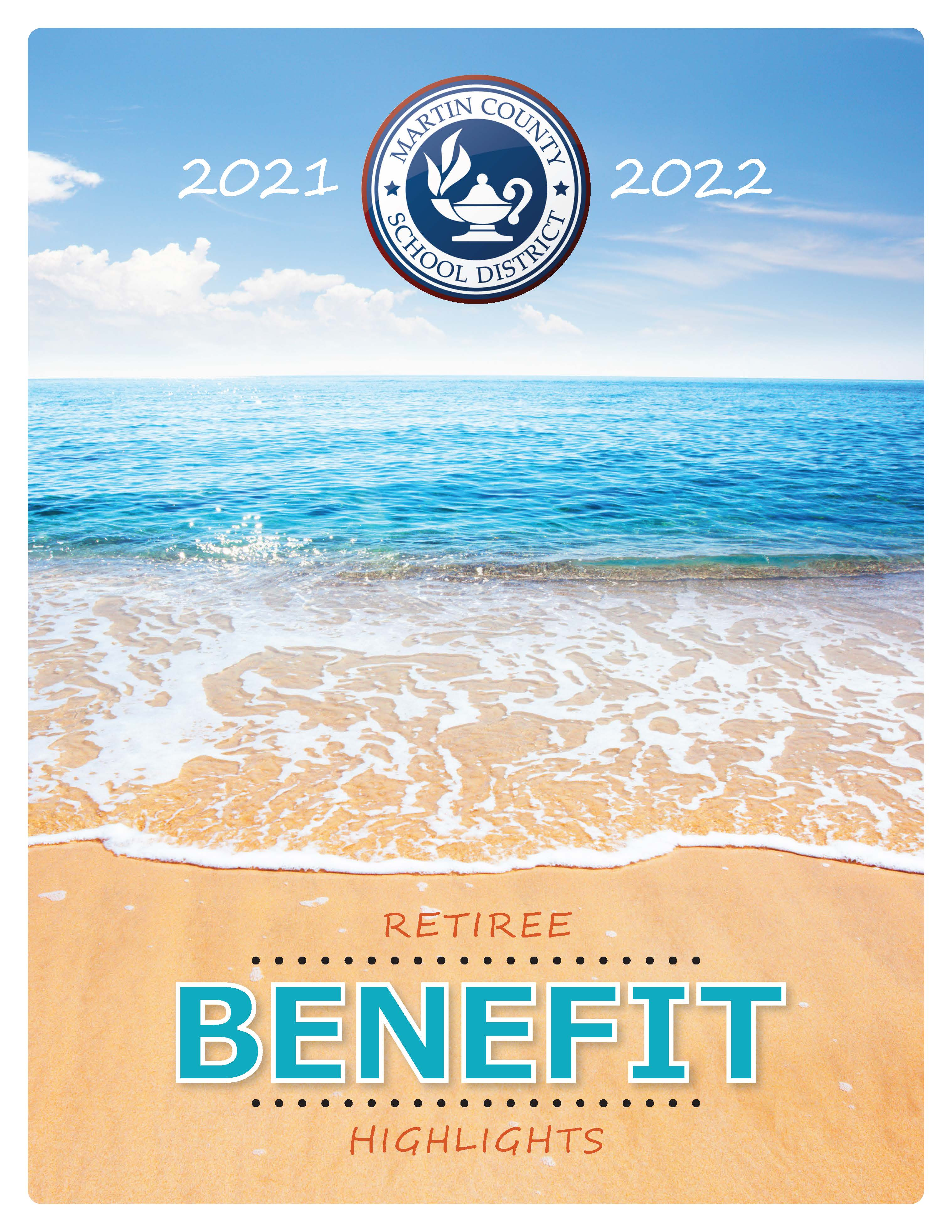 2021/2022 Retiree Booklet Cover