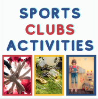 sports, clubs, activities