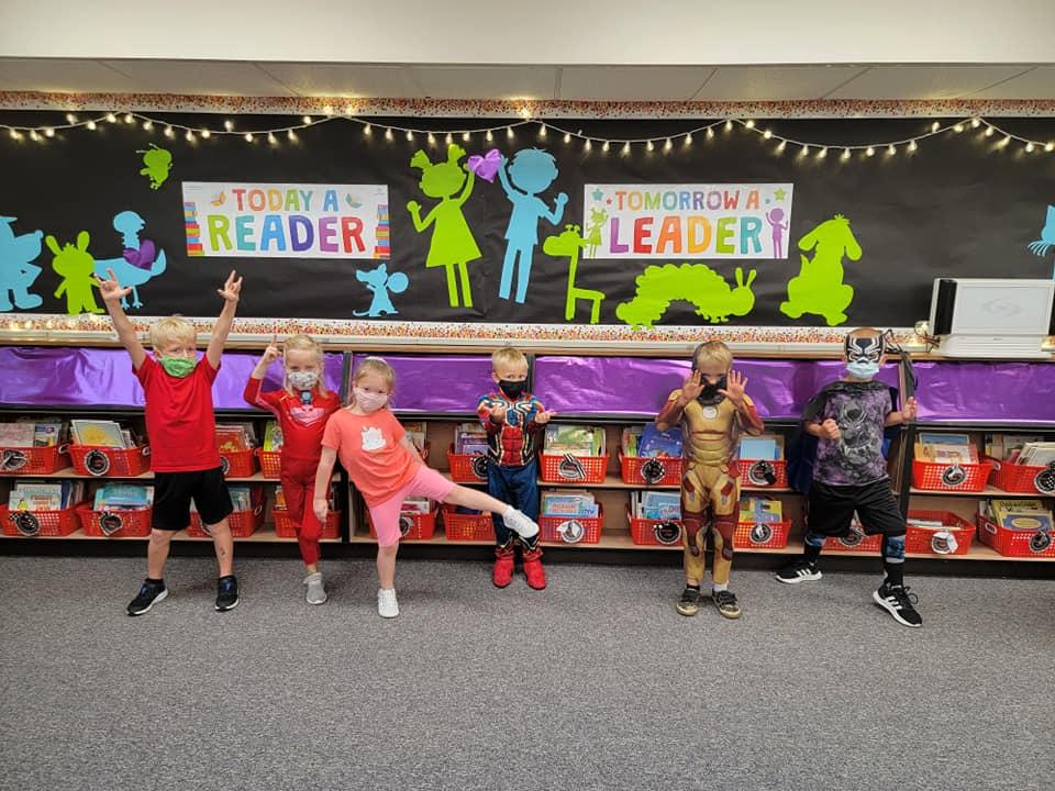 Kindergarten super heroes