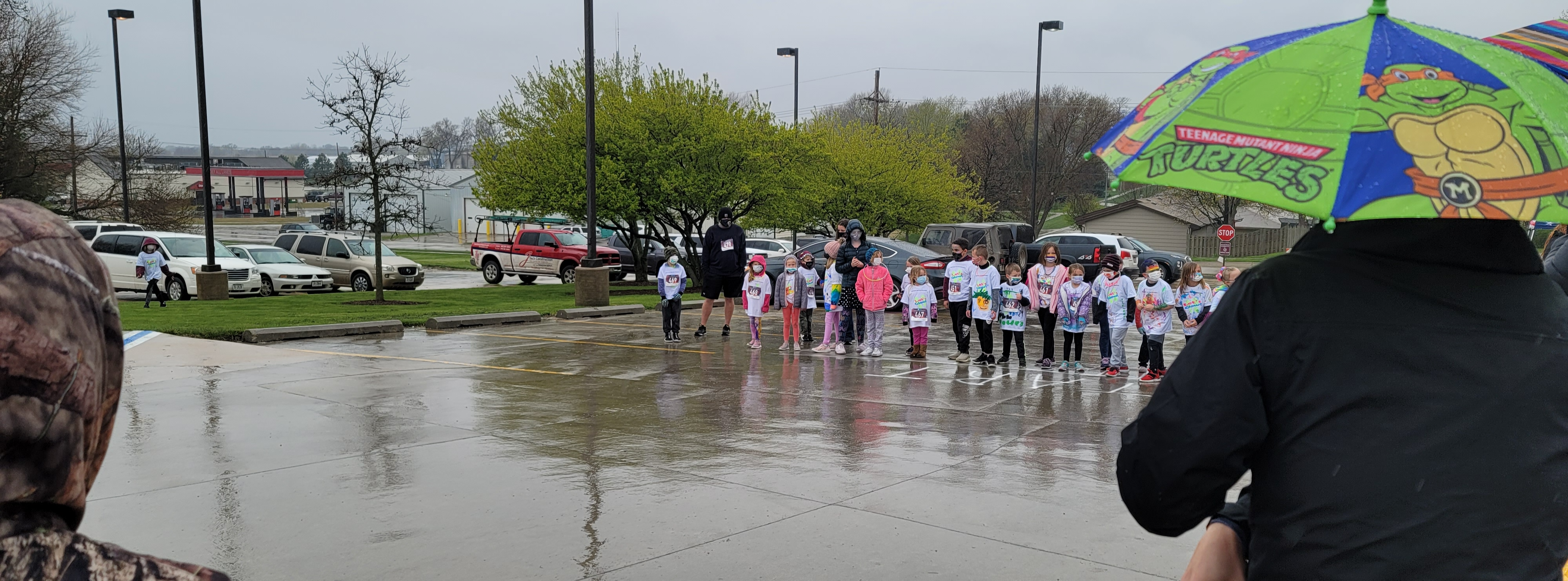PTE Fun Run in Eagle Elementary Parking Lot Spring 2021