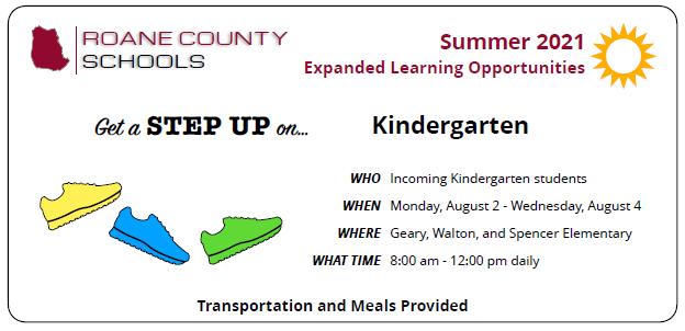 Kindergarten STEP UP Program