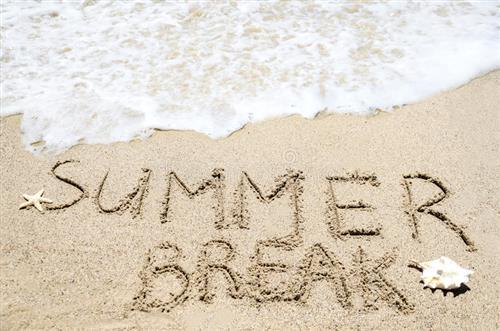 Summer break image