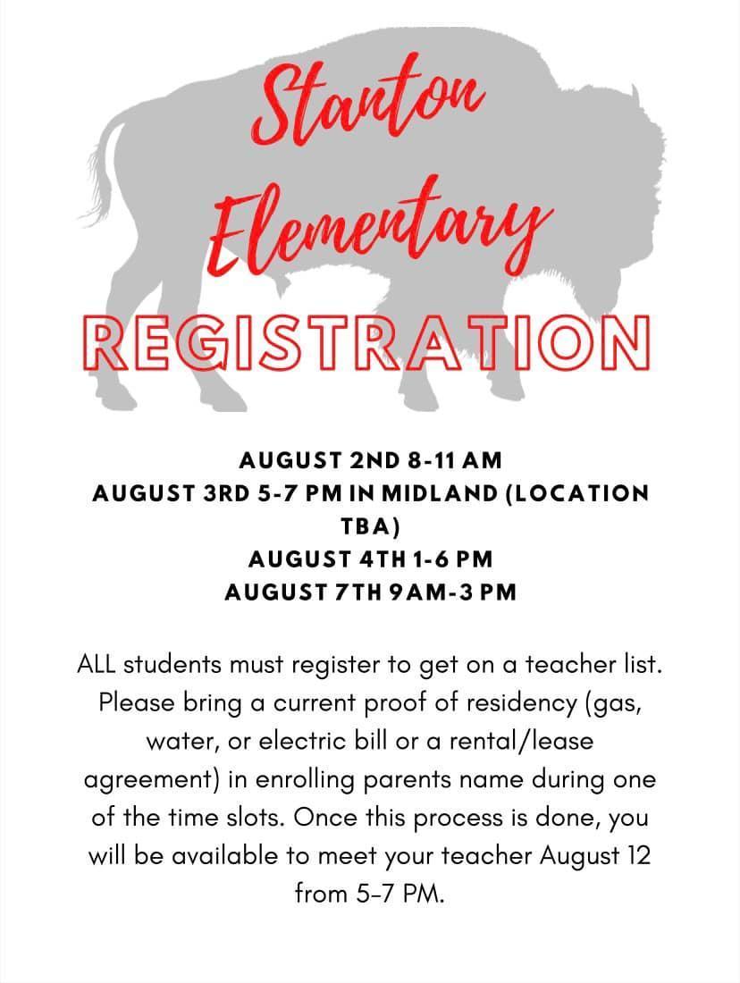 Stanton Elementary Registration