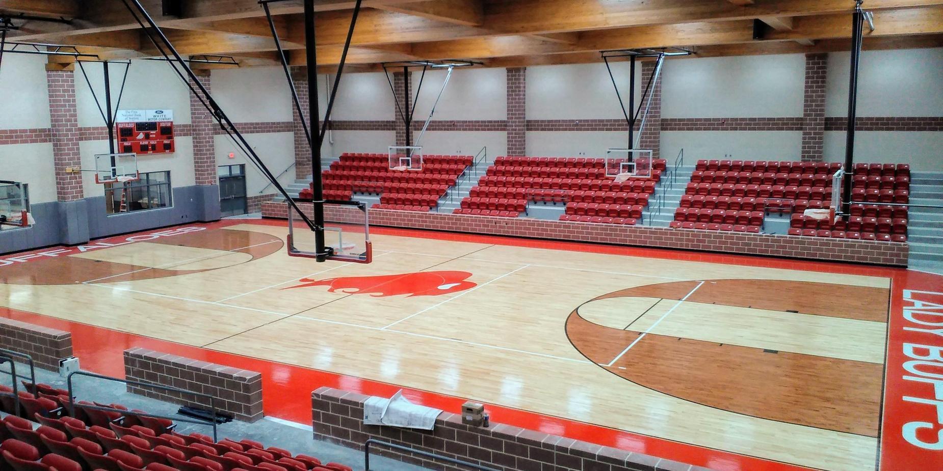 Stanton ISD basketball court