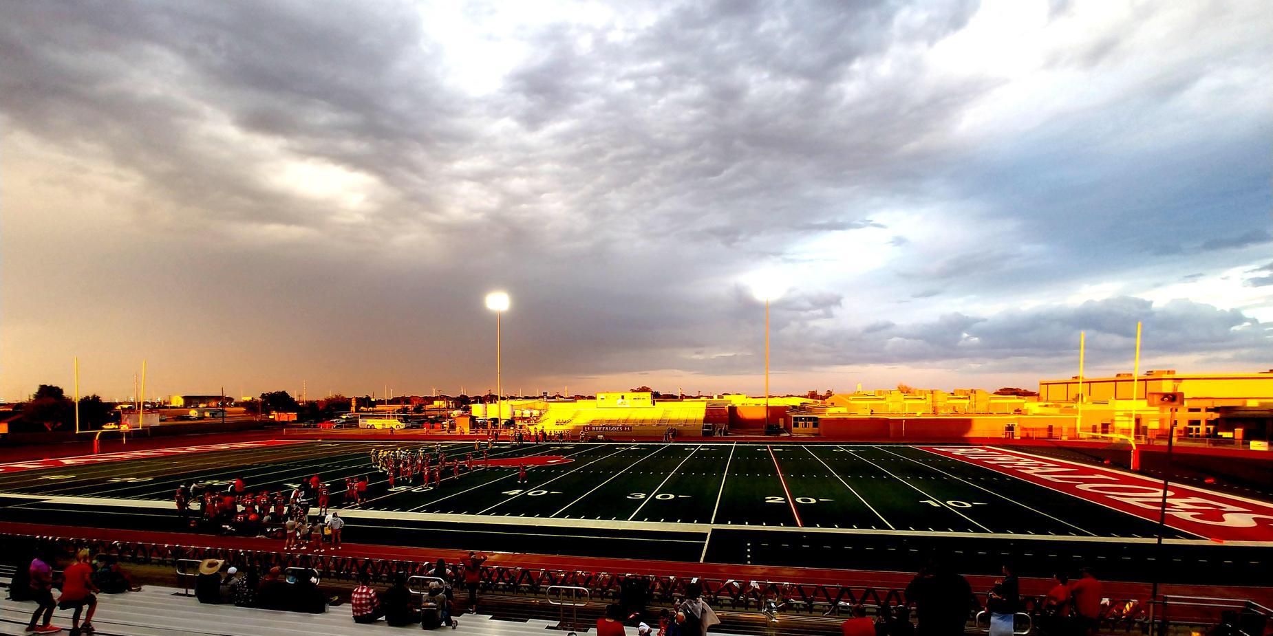 Stanton ISD football team takes the field
