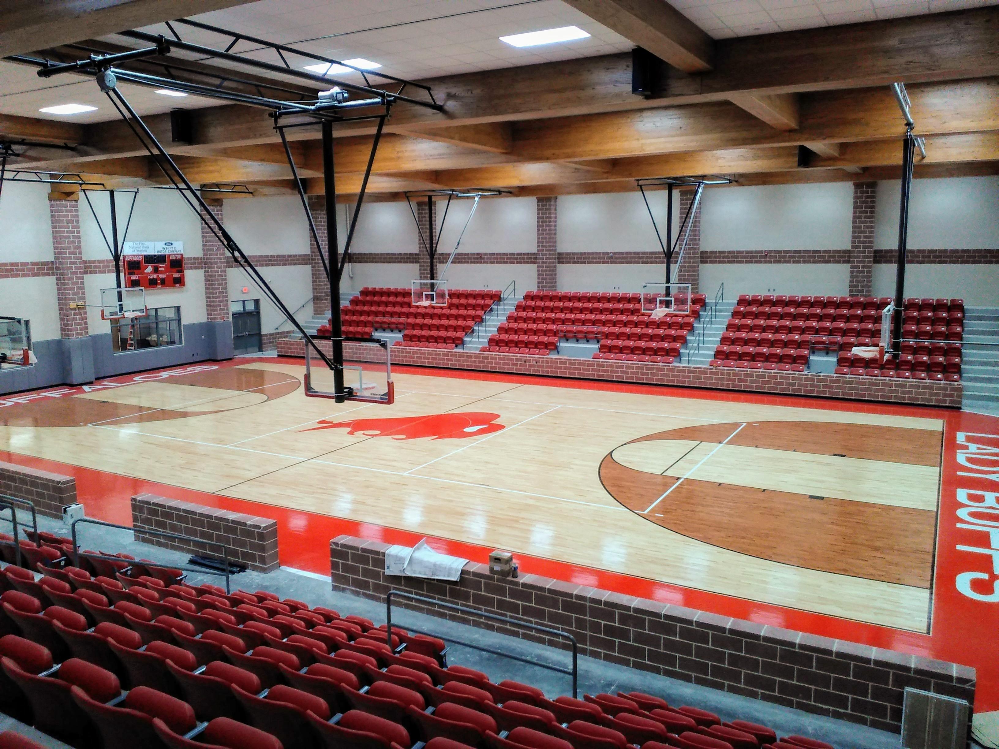 Stanton High Basketball Court