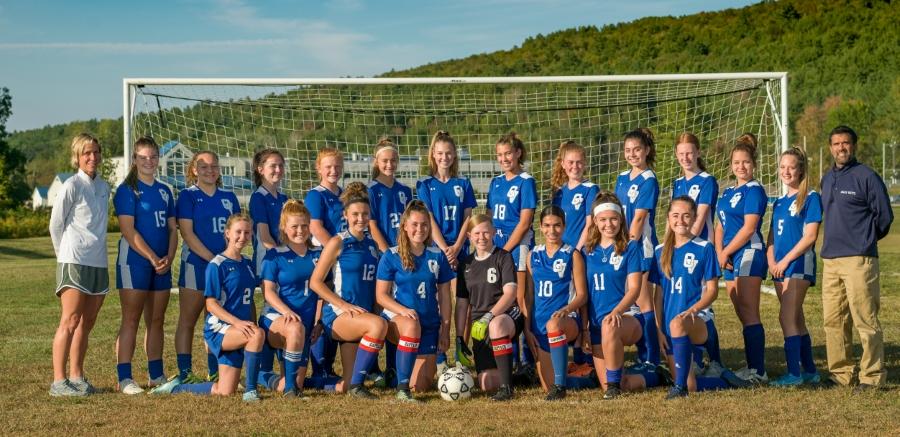 Varsity Girls Soccer Team 2020