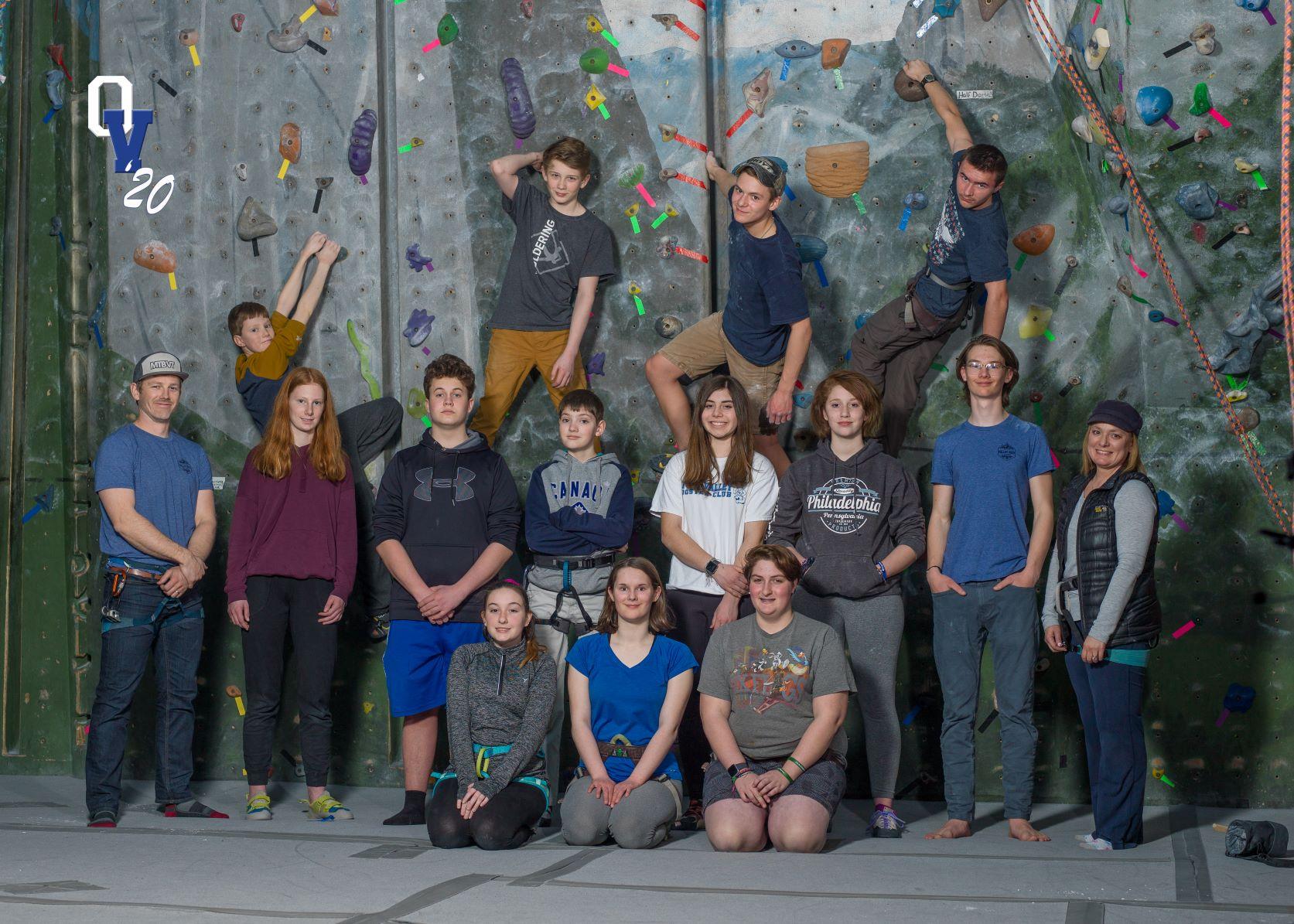Rock Climbing Team 2020
