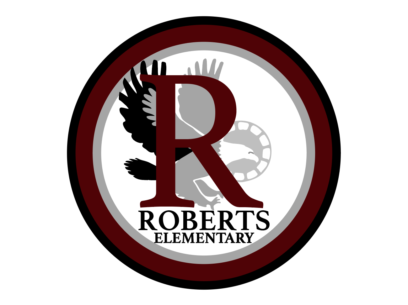 Roberts logo with eagle