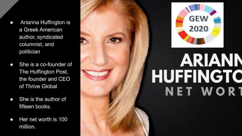 Ariann Huffington Network