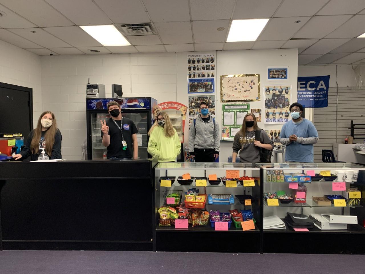 Taylor High School- School Store Students