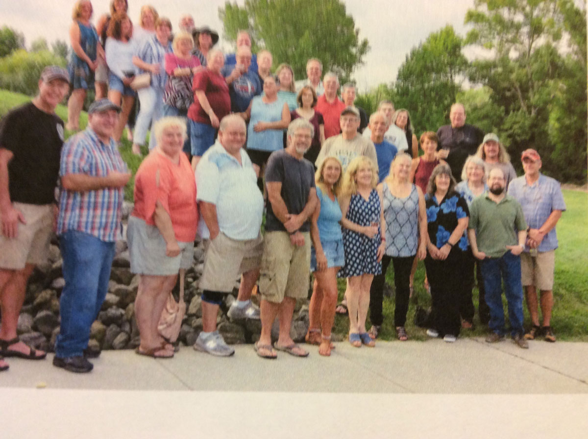 CHATHAM HIGH SCHOOL CLASS OF 1978 HELD 40TH REUNION