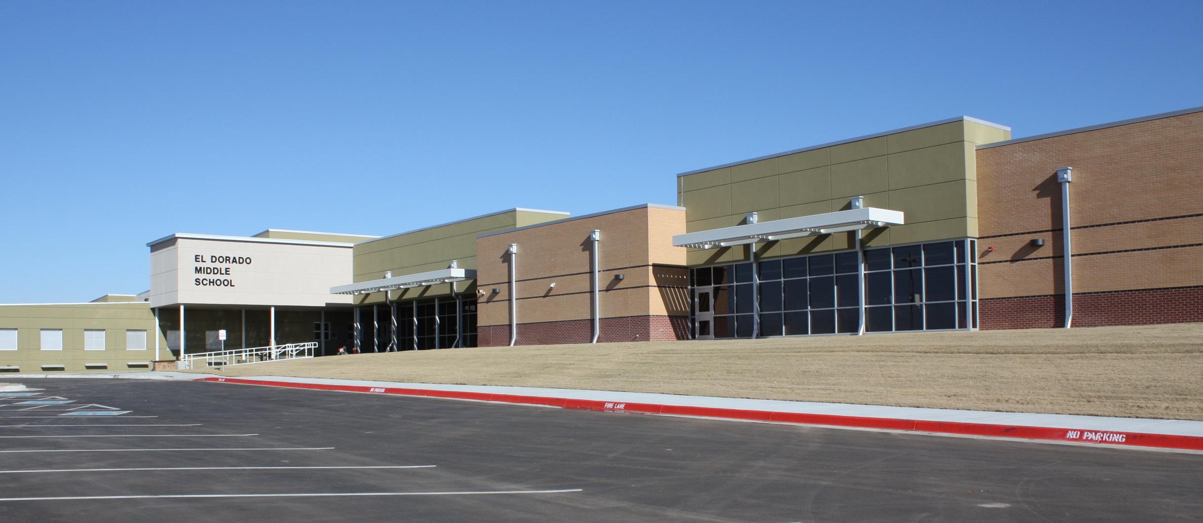 EMS Banner exterior building