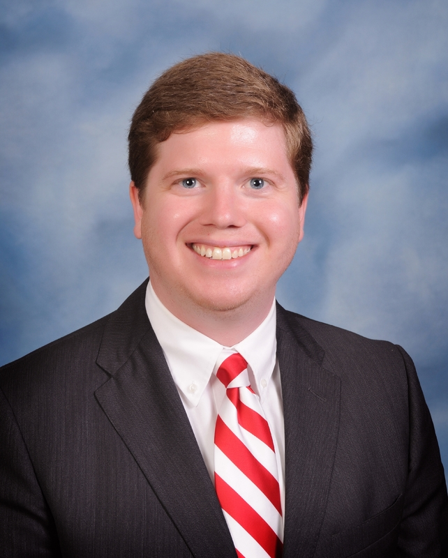 Photo of Tyler Reed, Principal of Beebe Middle School