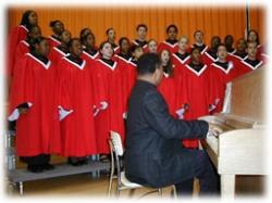 Students in Choir