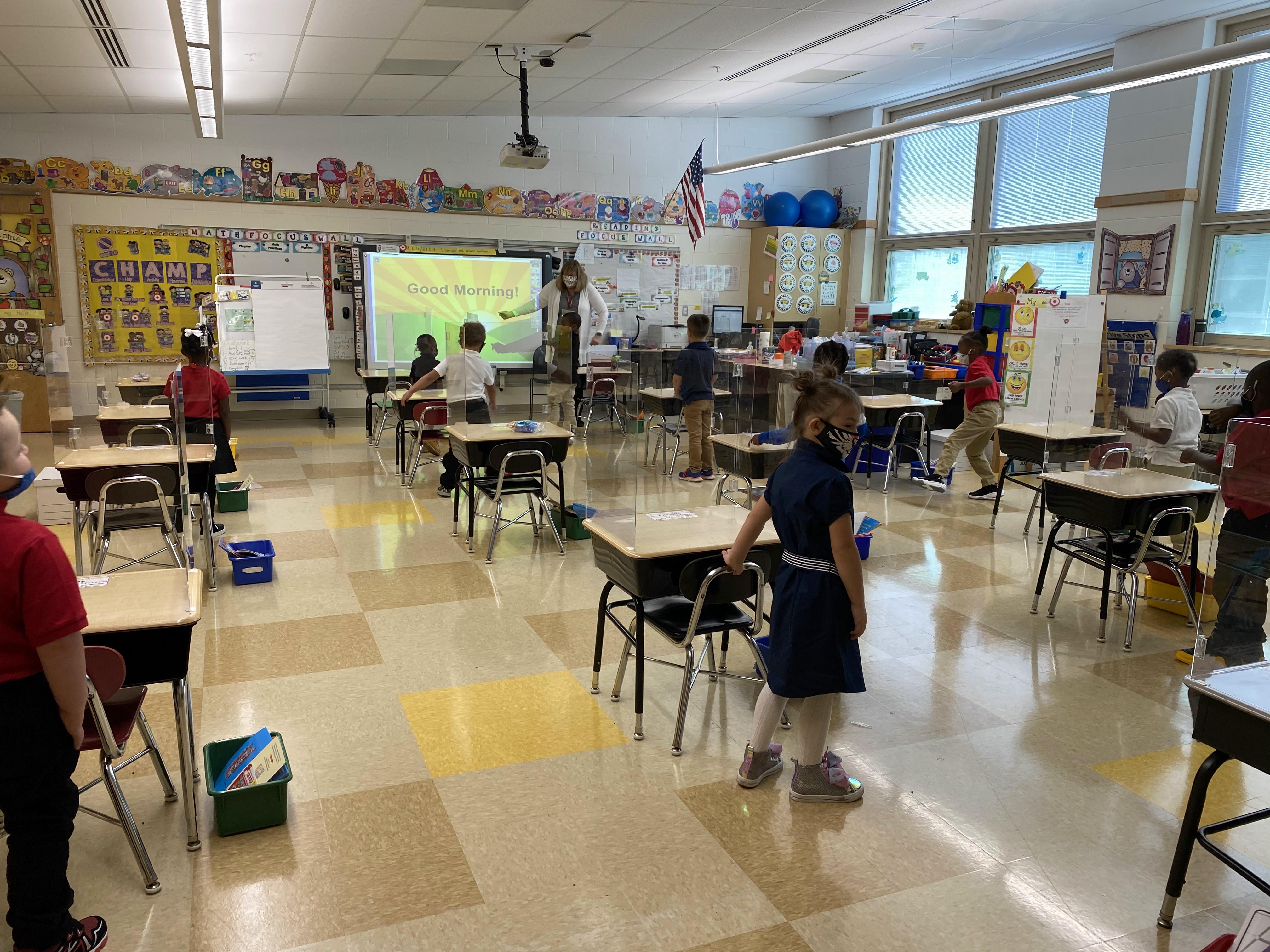 south K classroom