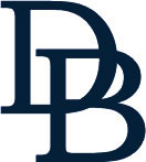 An image of a logo that says DB