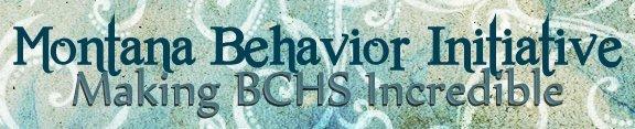 Montana Behavior Initiative, Making BCHS Incredible