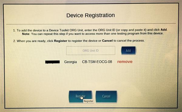 Register a Chromebook - Info