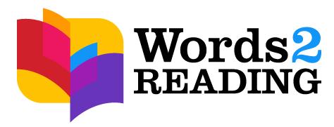 Words 2 Reading