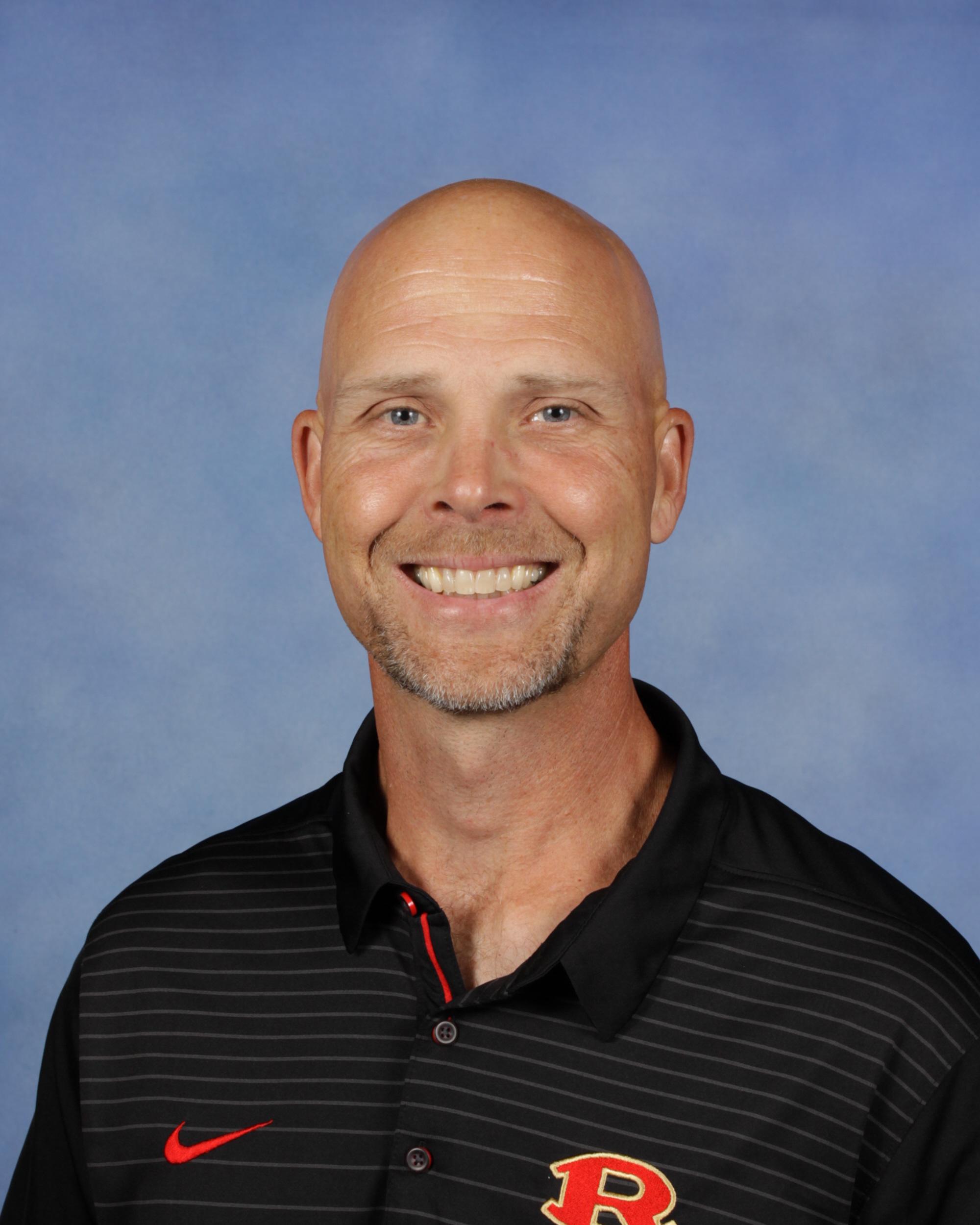 Photo of Coach Chris Boden.