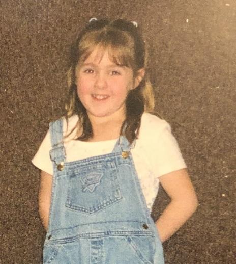 Ms. Bott as a child