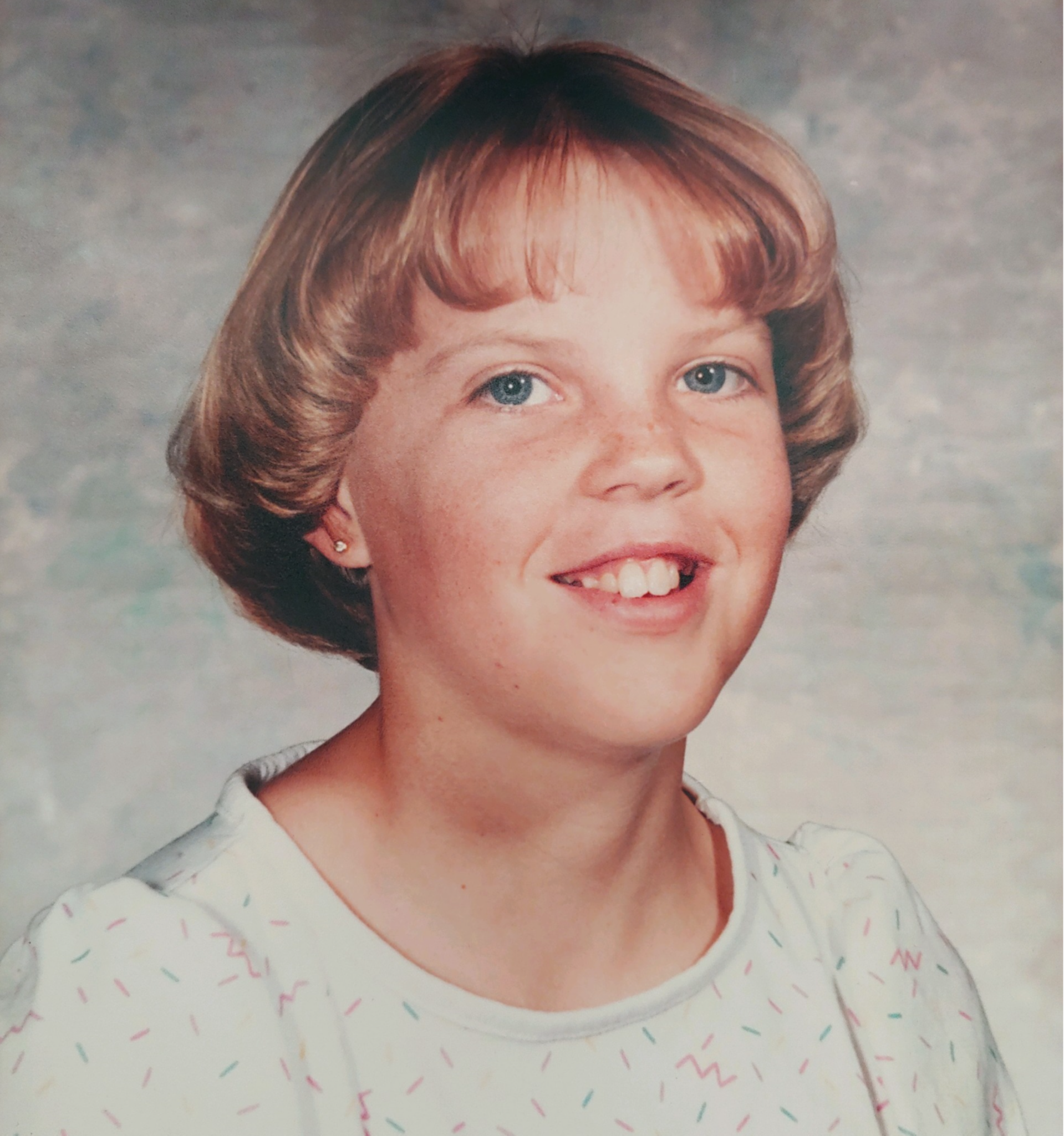 Mrs. Tureson  as a child