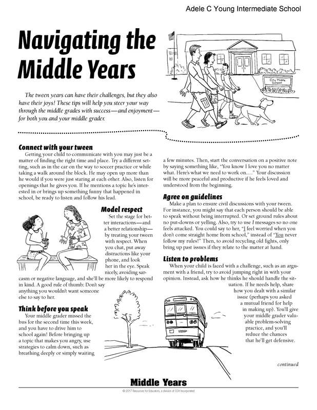 Navigating the Middle Years