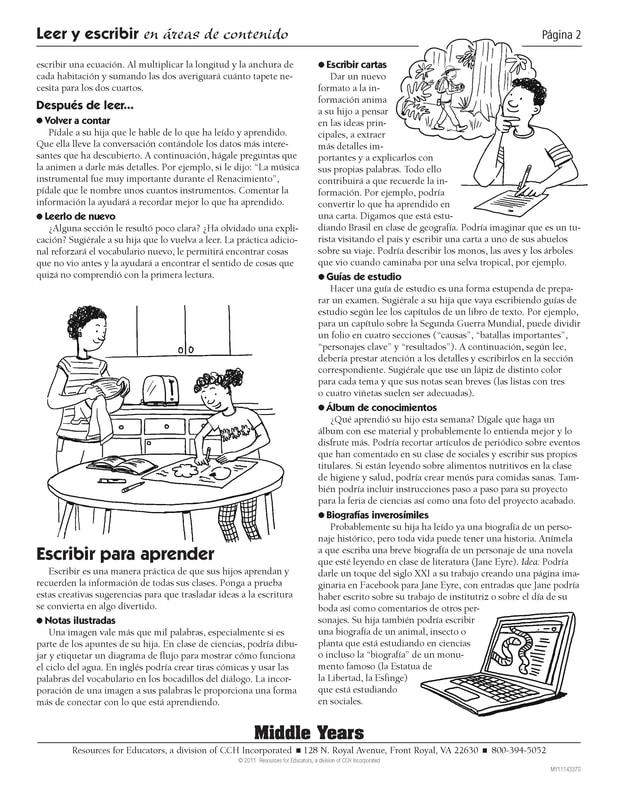 Reading and Writing Spanish