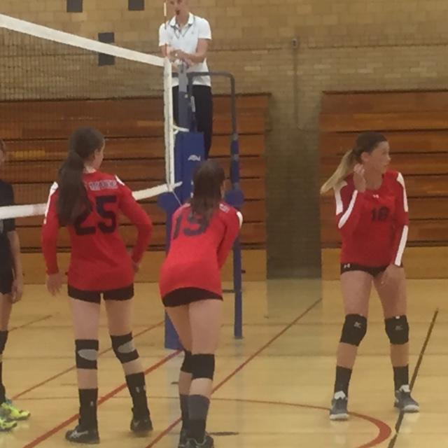 Freshmen Volleyball photo