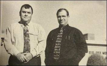 Karl Star and Calvin Bingham in the 1990s photo