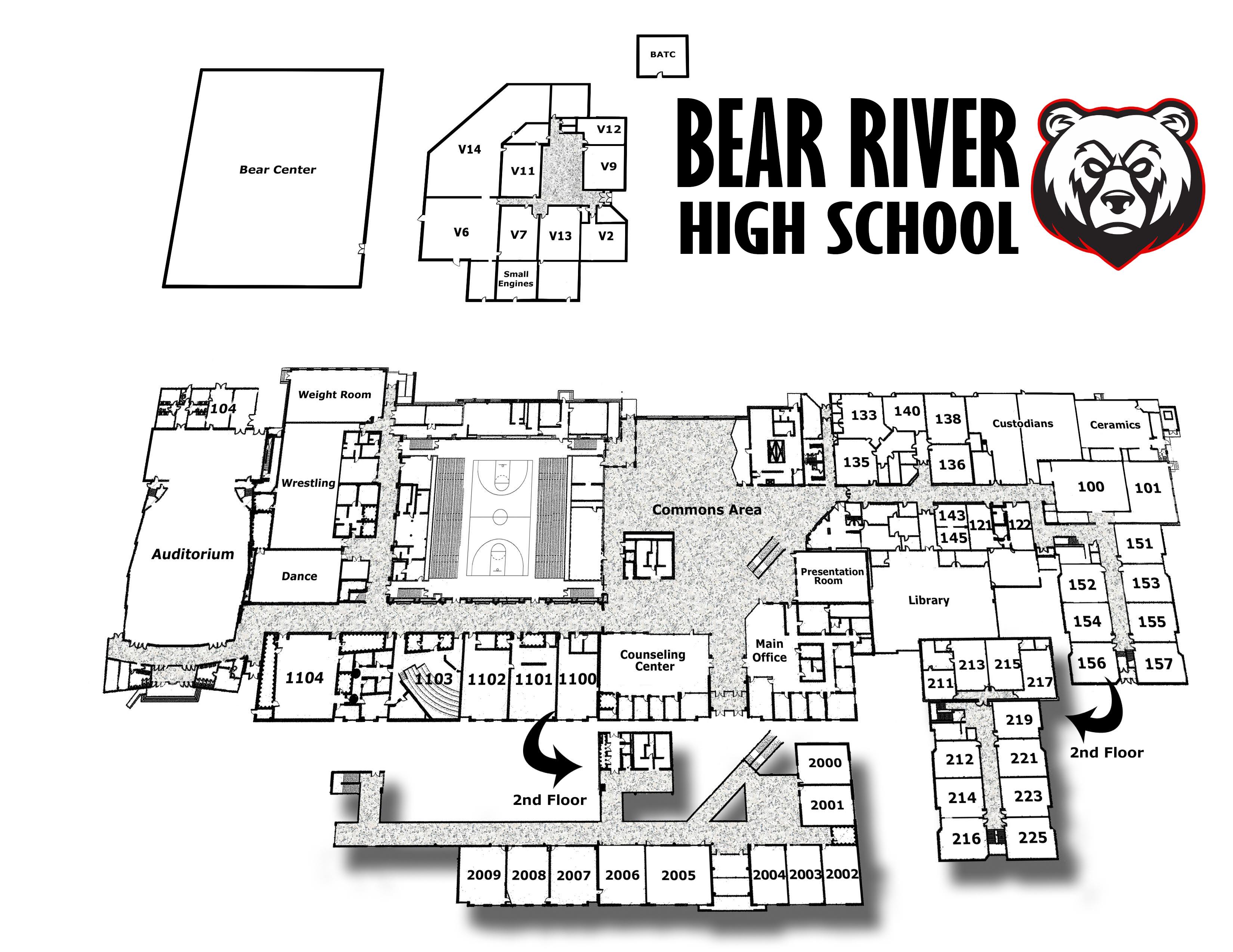 BRHS School map