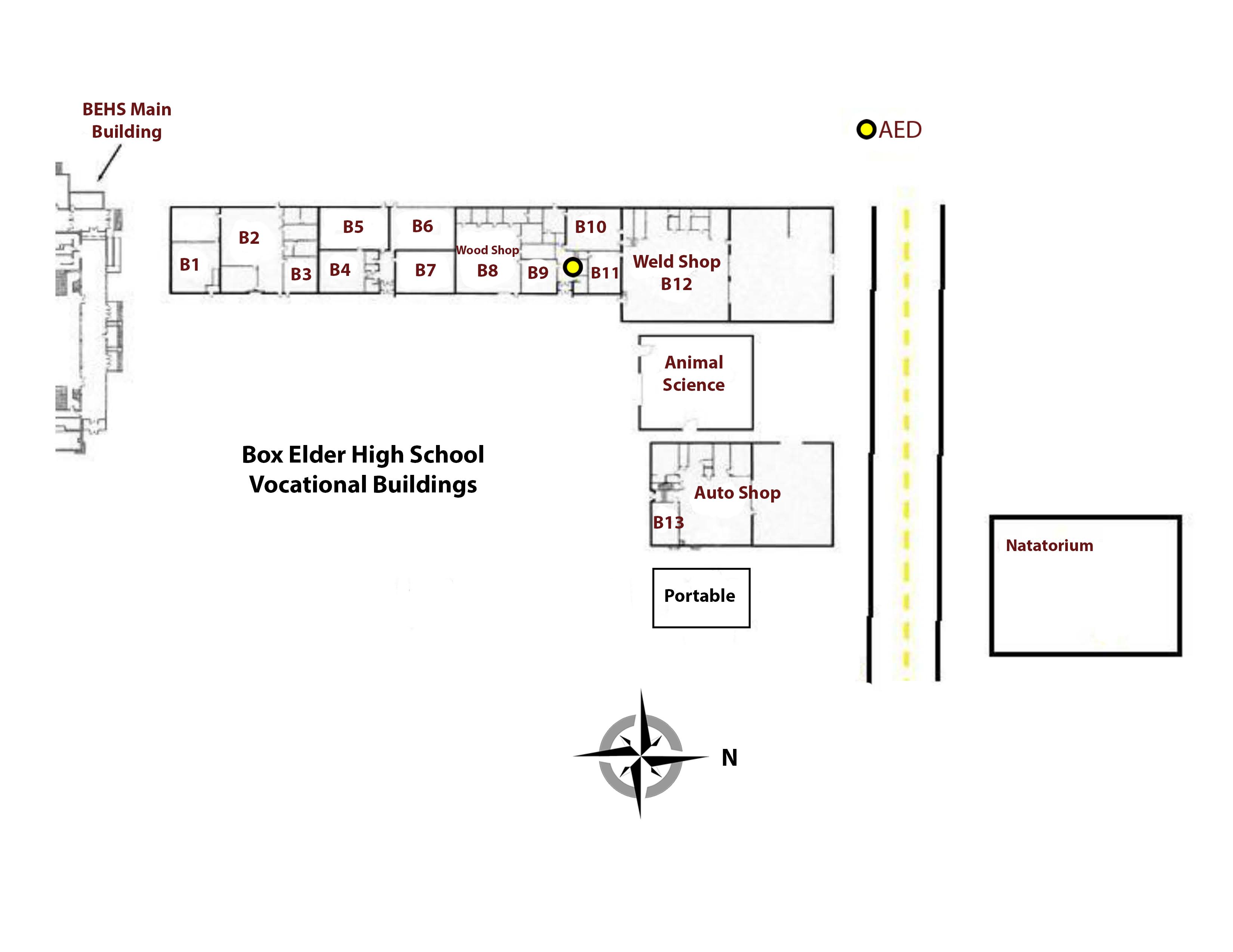 Campus Map B