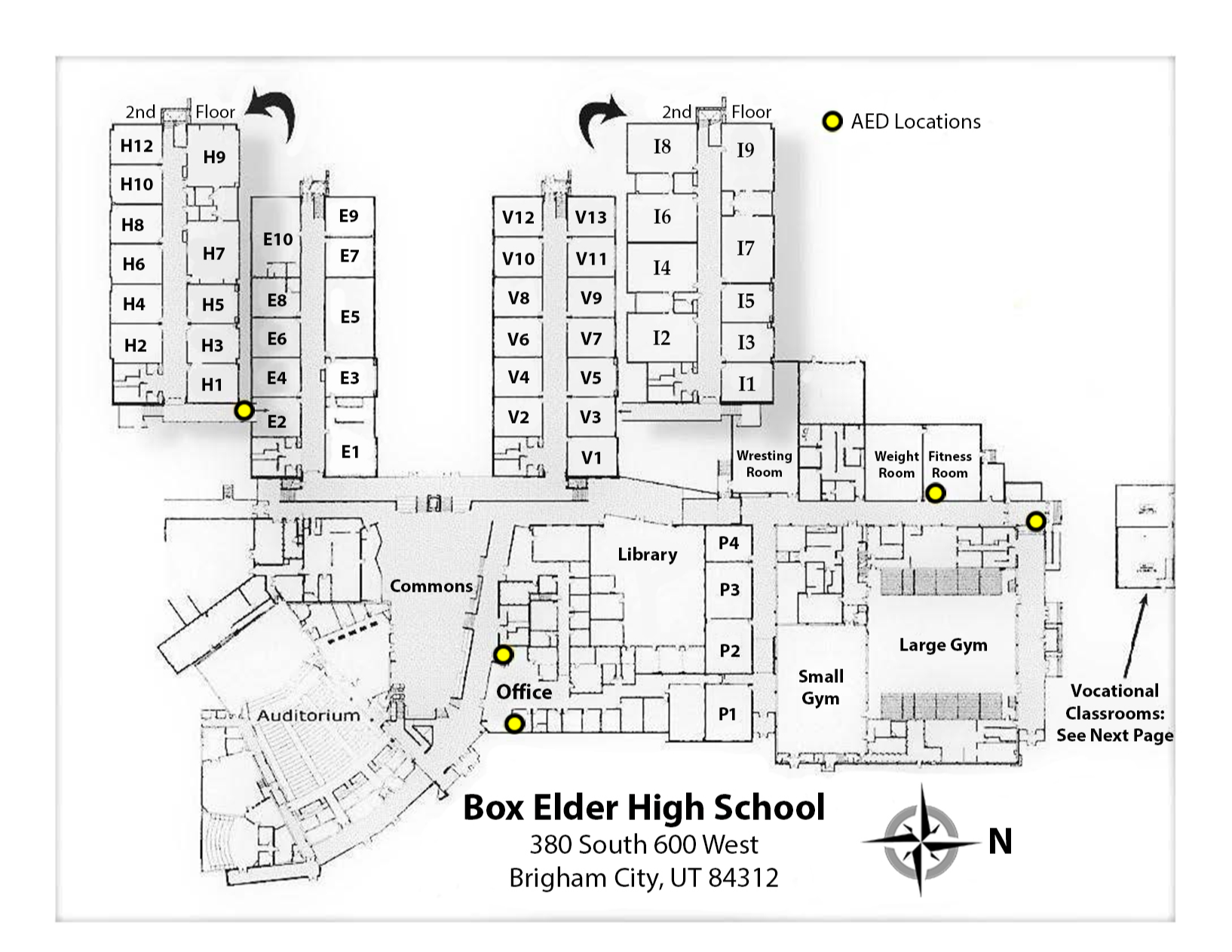 Campus Map A