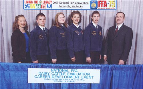 State and National Award Winning CDE Teams