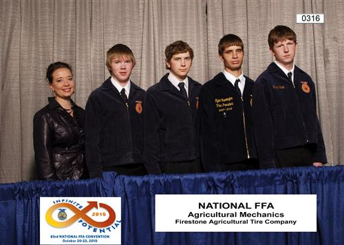 2003 State Champions and National Dairy Cattle Evaluation Team