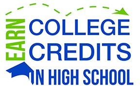 college credits in high school logo