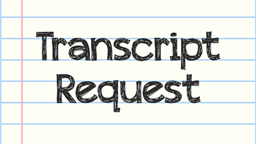 transcript request logo
