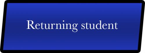 309 Returning Student Enroll Button