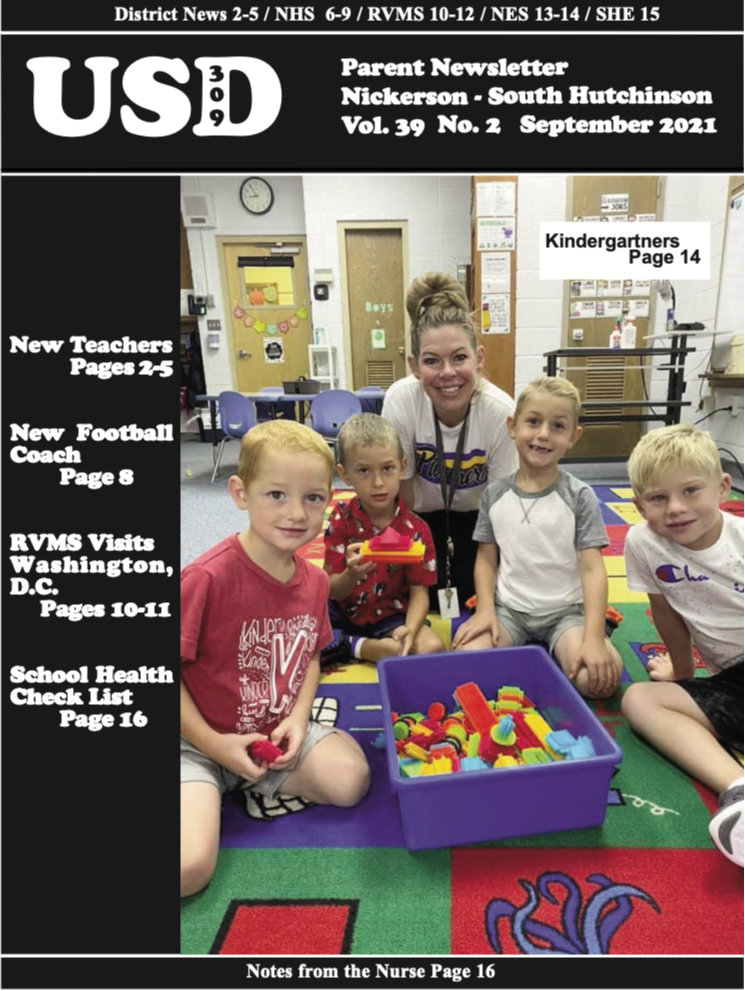 September Newsletter Cover