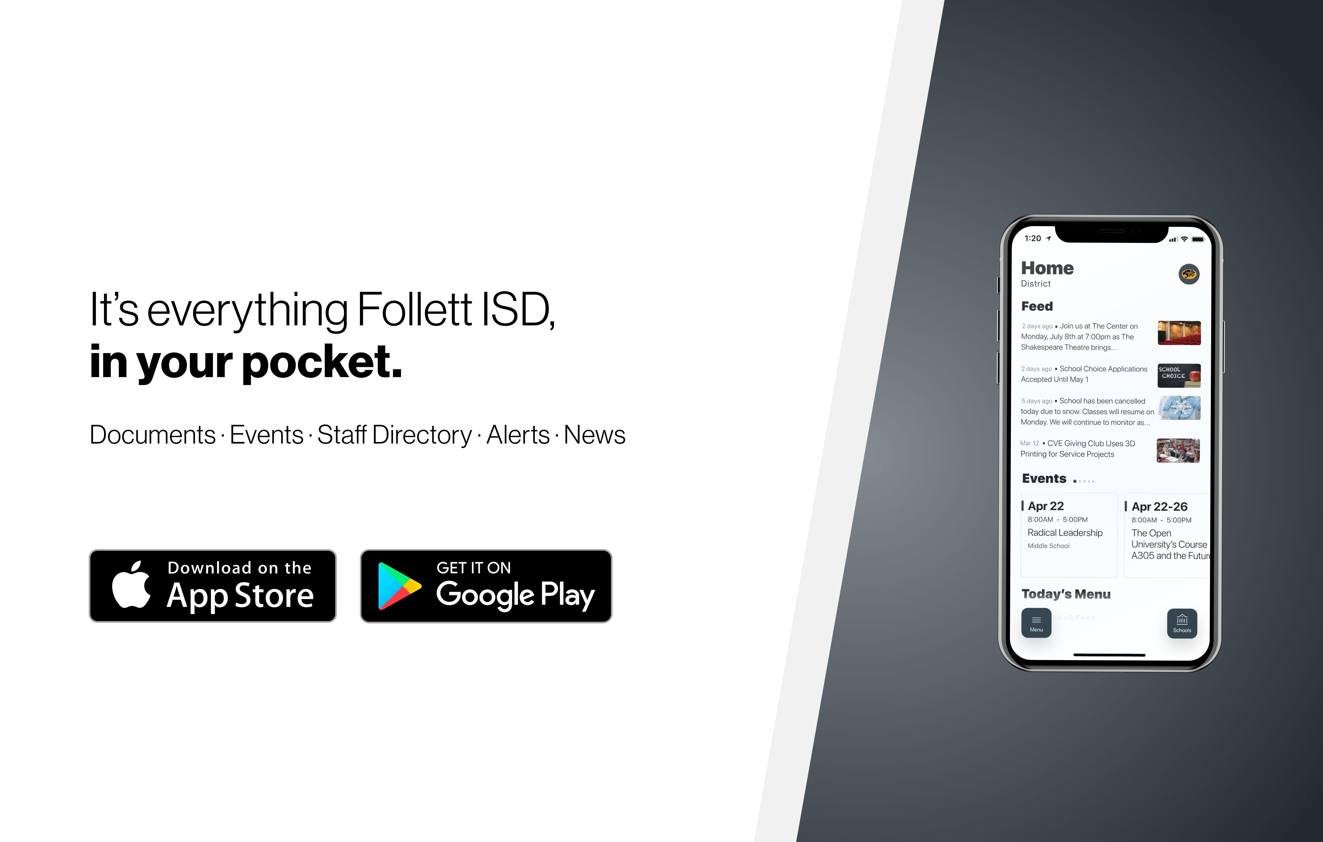 Apps for Follett ISD